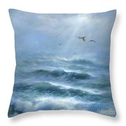 Rhythm And Blues Throw Pillow