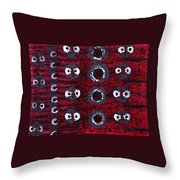 Rhythm From The Series The Elements And Principles Of Art Throw Pillow