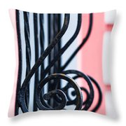 Rhythm Of Architecture - Vertical Format Throw Pillow by Alexander Senin