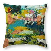 Rhythm On Jackson Throw Pillow