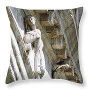 Rialto Bridge Angel Throw Pillow