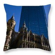 Rialto Building Melbourne Throw Pillow