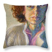 Ribbed Sweater Throw Pillow