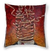 Ribbon Throw Pillow