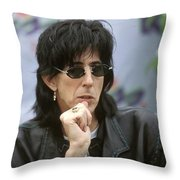 Ric Ocasik Throw Pillow