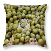 Rice And Peas Throw Pillow