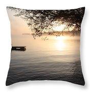 Rice Lake Throw Pillow