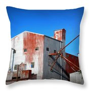 Rice Mill IIi Throw Pillow