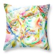 Richard Brautigan  Throw Pillow