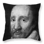 Richard Burbage (c1567-1619) Throw Pillow