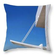 Richard Meier's Getty  Architecture Iv Throw Pillow