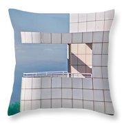 Richard Meier's Getty Throw Pillow