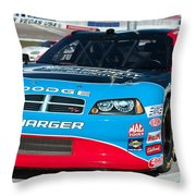 Richard Petty Driving School Nascar  Throw Pillow