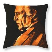Richard Wagner Throw Pillow