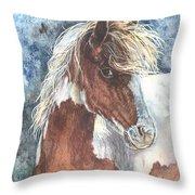 Pinto Pony Throw Pillow