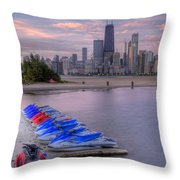 Ride On The Wild Side Throw Pillow
