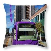 Ride The Seattle Slut Throw Pillow