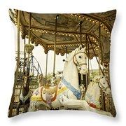 Ride The Wild Pony Throw Pillow