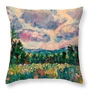 Ridge Light Throw Pillow