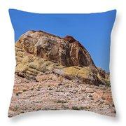 Ridge Of Stone Throw Pillow