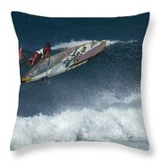 Riding The Wind Throw Pillow