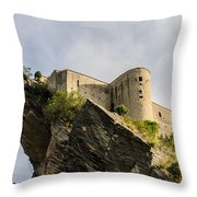 Riding The Wings Of Eternity Throw Pillow