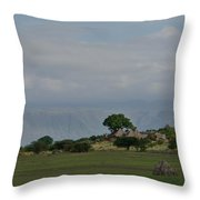 Rift Valley Photographic Lodge Throw Pillow