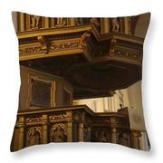 Riga Cathedral 2 Throw Pillow