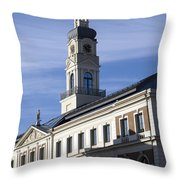 Riga Town Hal Throw Pillow