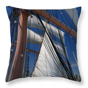 Rigging All Over Throw Pillow