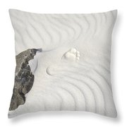 Right Step Throw Pillow