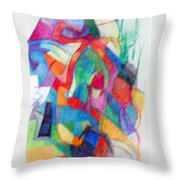 Righteous Step 2  Throw Pillow