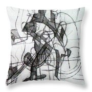 Righteous Step 3  Throw Pillow