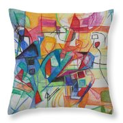 Righteous Step 5 Throw Pillow