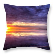 Rim Of Fire  Throw Pillow