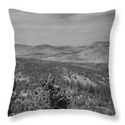 Rim Of The World Views Throw Pillow