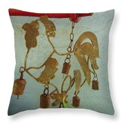 Ring In The Morning Throw Pillow