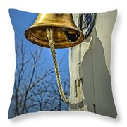 Ring My Bell Throw Pillow