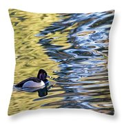 Ring-neck Reflections Throw Pillow