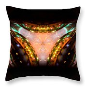 Ring Of Jewels Throw Pillow
