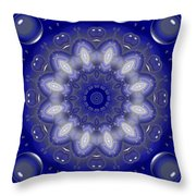 Ring Of Lights Throw Pillow
