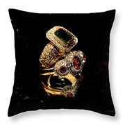 Ringing Throw Pillow