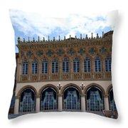 Ringling House Sarasota Throw Pillow