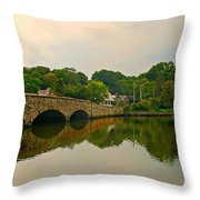 Rings End Bridge Throw Pillow