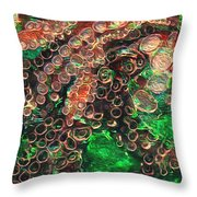Rings Throw Pillow by Jack Zulli