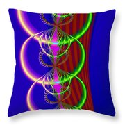 Rings Of Rivalry Throw Pillow