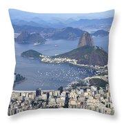 Rio De Janeiro 1 Throw Pillow