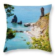 Rio De La Miel Watch Tower Throw Pillow