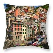 Rio Maggiore Marina Throw Pillow