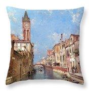 Rio St Barnaba Venice Throw Pillow